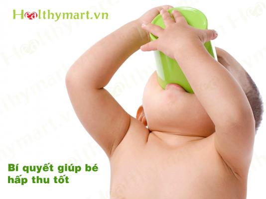 Bí quyết giúp bé tăng cân nhanh và đều, hấp thu tốt