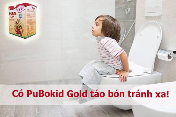 PuBokid Gold đã tạo nên điều kì diệu cho liệu trình chữa táo bón như thế nào