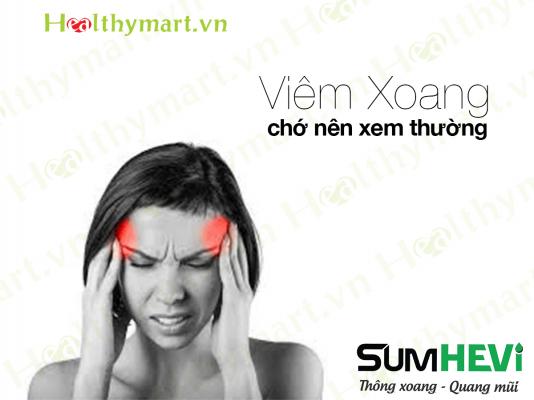 Nhức đầu do viêm xoang Triệu chứng chớ nên xem thường