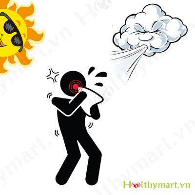 Cách phòng bệnh viêm xoang do thời tiết