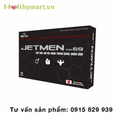 Viên Uống JetMen For 69 – Món quà cho Quý ông