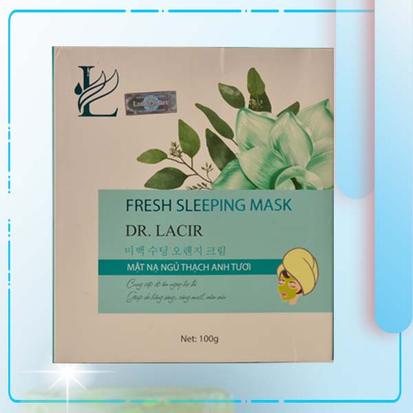 Mặt Nạ Ngủ Thạch Anh Tươi Ngừa Nám Lamer Fresh Sleeping Mark