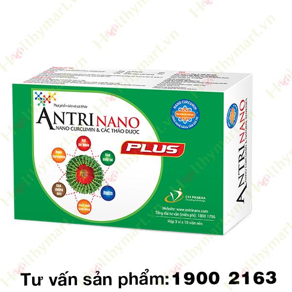 AntriNano Plus - Hỗ trợ điều trị bệnh Trĩ