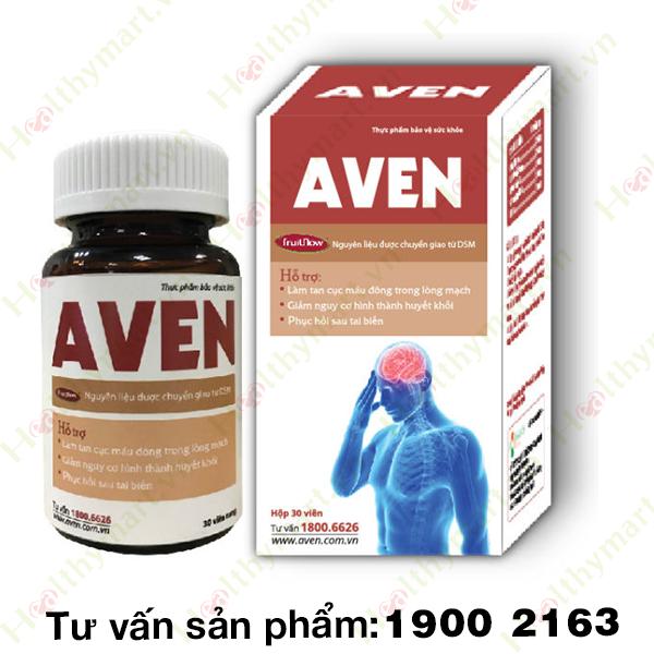 AVEN - đánh tan cục máu đông, ngăn ngừa tai biến