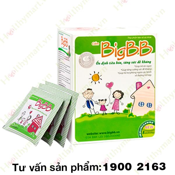 BigBB Plus - giảm nhanh viêm mũi họng