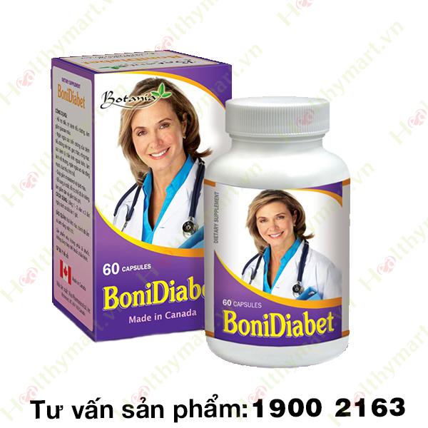 BoniDiabet - Hỗ trợ điều trị tiểu đường