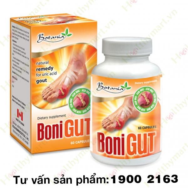 BONIGUT - Giảm đau nhức khớp xương do Gout