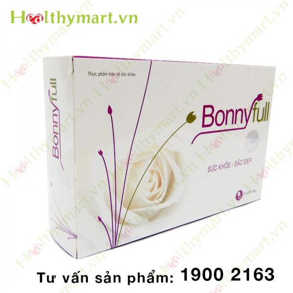 BonnyFull - đẩy lùi khô hạn ở phụ nữ tiền mãn kinh