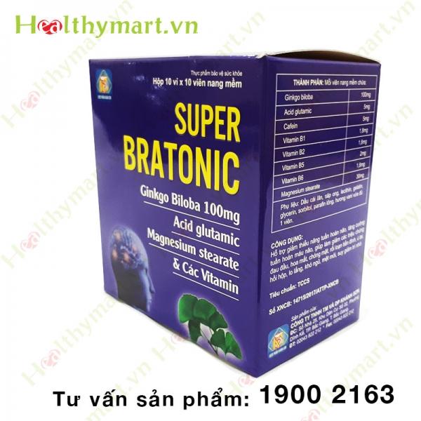 Super Bratonic - Bảo vệ tế bào não