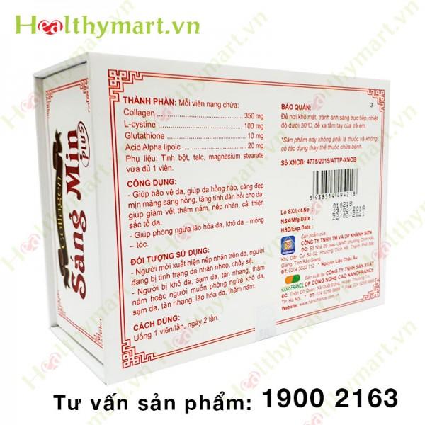 Collagen Sáng Mịn Plus – Da sáng mịn màng, ngăn ngừa lão hóa - 4