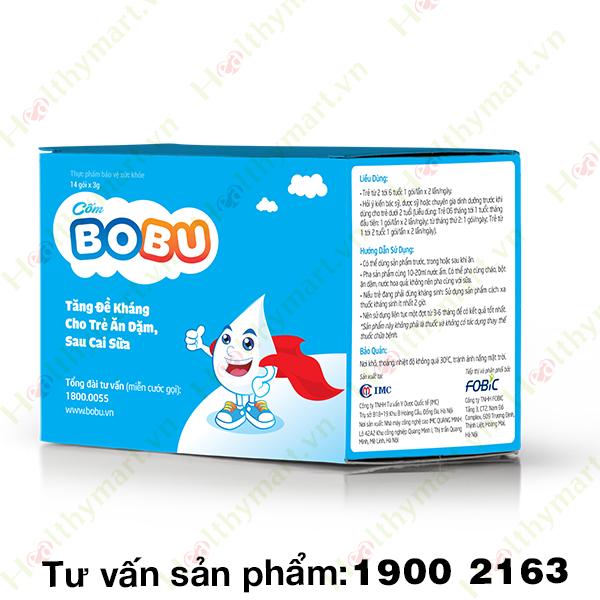 Cốm BOBU - Tăng Sức Đề Kháng Cho Trẻ Sau Cai Sữa