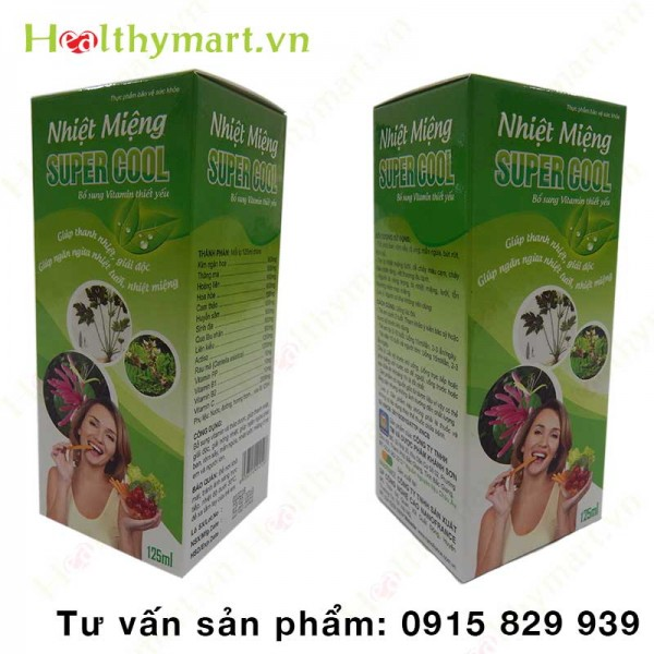 Combo 4 Hộp Nhiệt miệng Super Cool - 1