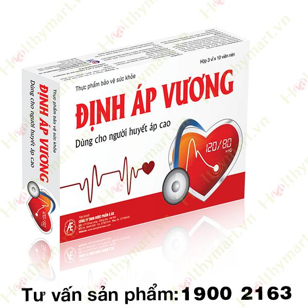 Định Áp Vương - Kiểm soát tình trạng tăng huyết áp