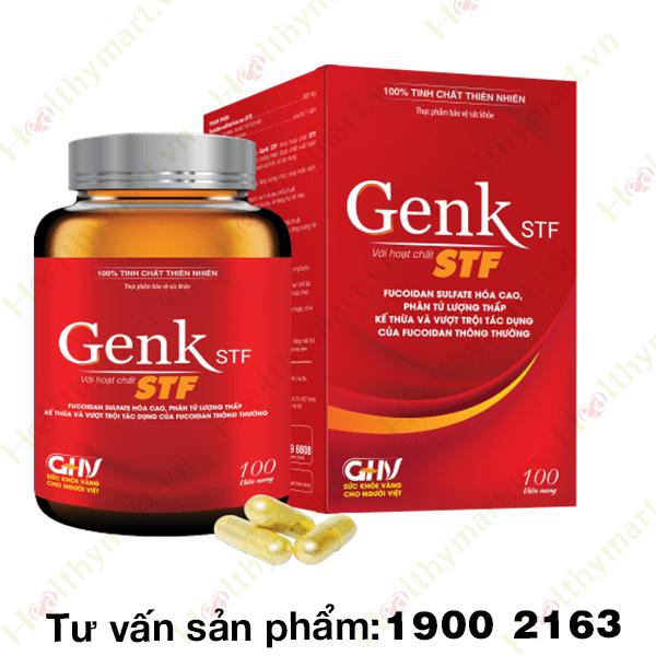 GenK STF Liquid - nâng sức đề kháng, ngăn chặn tế bào ung thư