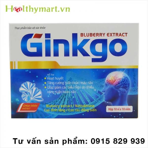 Ginkgo Biloba – Giúp hoạt huyết dưỡng não