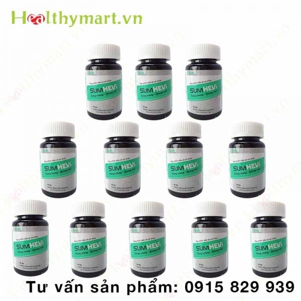 Combo 12 hộp SumHevi - Không còn lo lắng viêm xoang tái phát