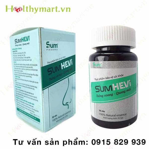 SumHevi - Hỗ trợ điều trị viêm xoang, viêm mũi dị ứng