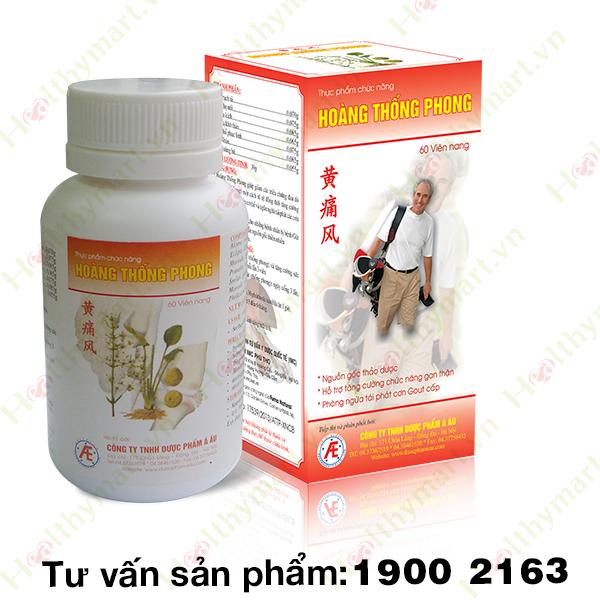 Hoàng Thống Phong - hỗ trợ điều trị bệnh gout hiệu quả