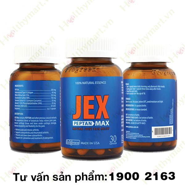 Jex Max- tăng cường tái tạo sụn khớp