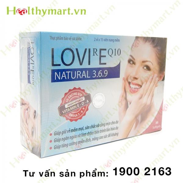 LOVIREQ10 - Ngăn ngừa lão hóa da