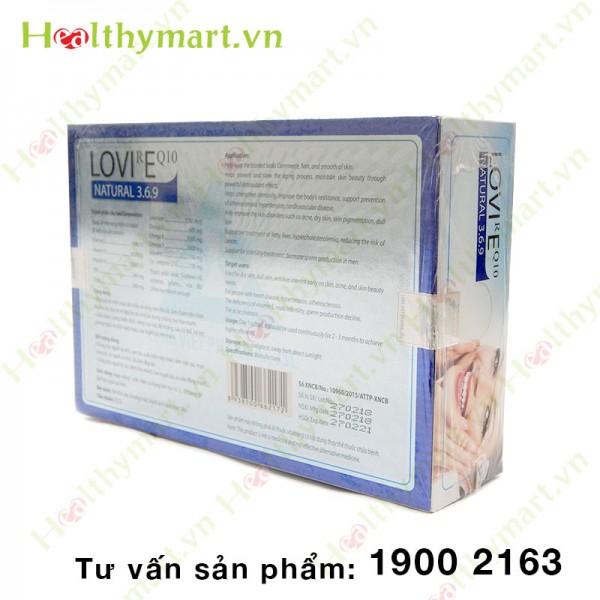 LOVIREQ10 - Ngăn ngừa lão hóa da - 1