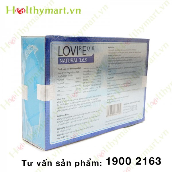 LOVIREQ10 - Ngăn ngừa lão hóa da - 2