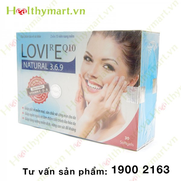 LOVIREQ10 - Ngăn ngừa lão hóa da - 3
