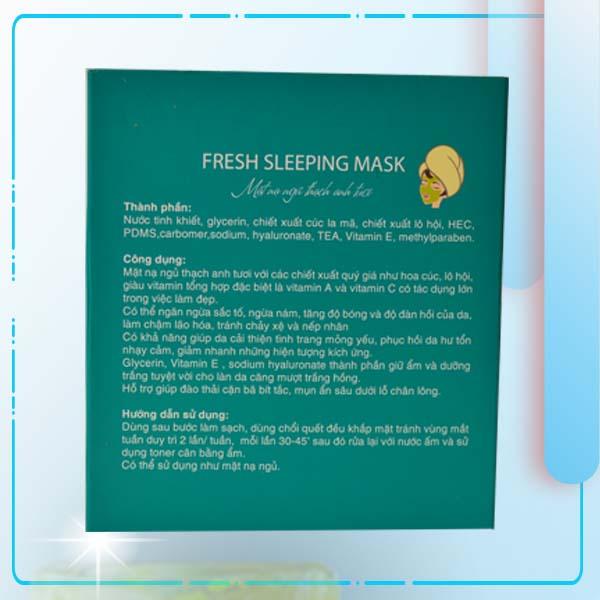 Mặt Nạ Ngủ Thạch Anh Tươi Ngừa Nám Lamer Fresh Sleeping Mark - 3