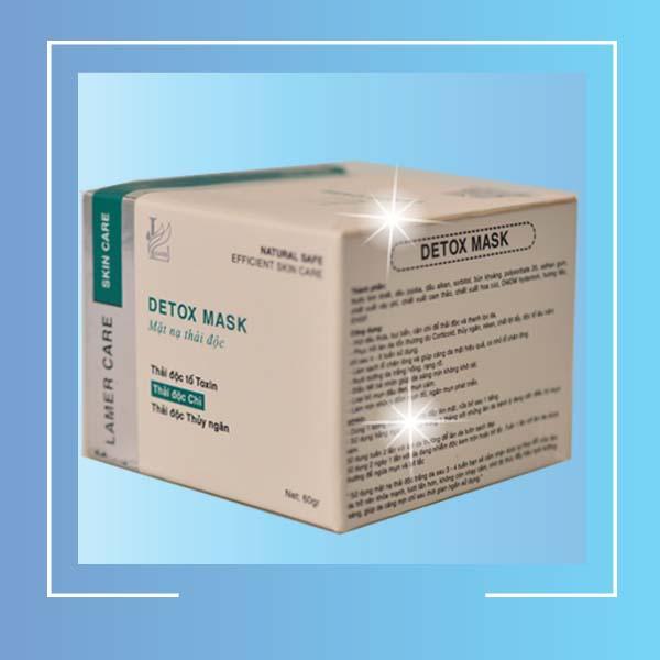 Mặt nạ thải độc phục hồi da hư tổn Lamer Detox Mark - 1