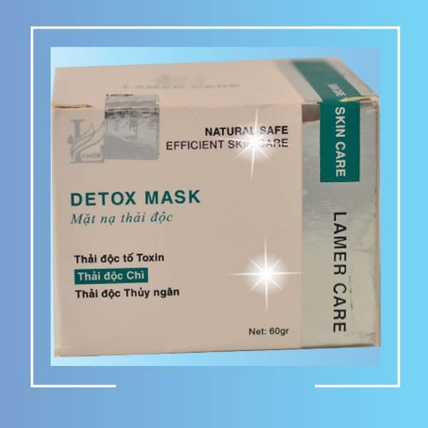Mặt nạ thải độc phục hồi da hư tổn Lamer Detox Mark - 2
