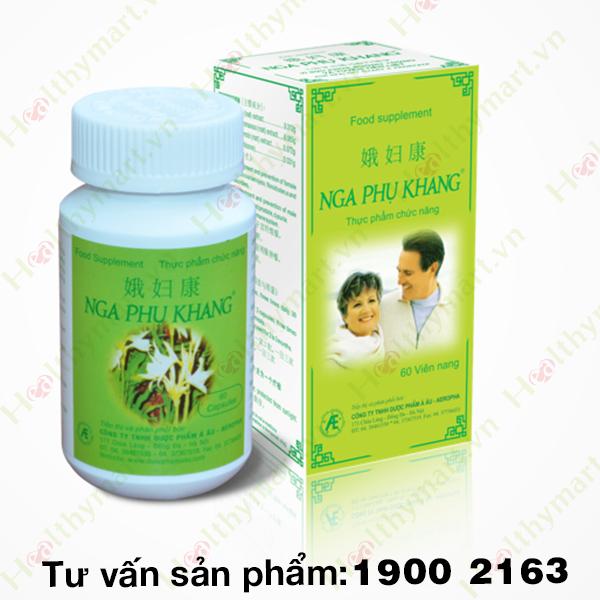 Nga Phụ Khang - Hỗ trợ điều trị u xơ tử cung