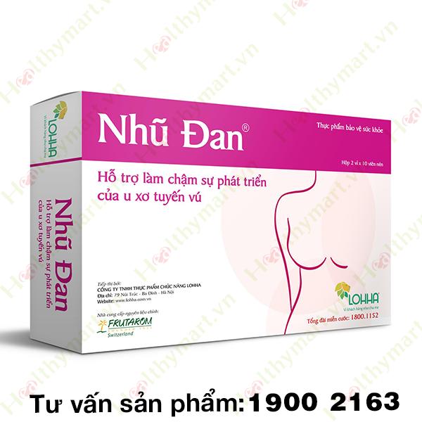 Nhũ Đan - hỗ trợ và phòng ngừa ung thư vú