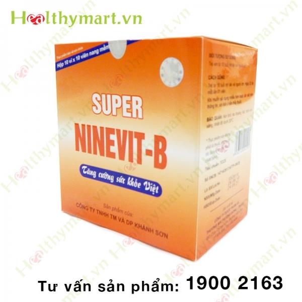Super NINEVIT-B – Tăng cường sức khỏe