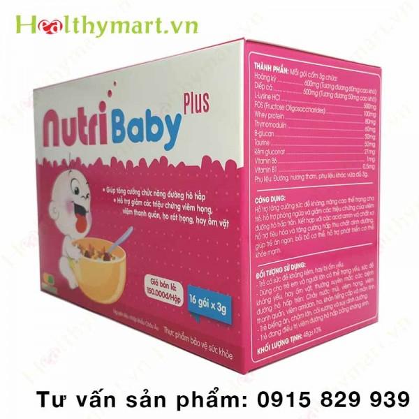 NutriBaby Plus - tăng cường chức năng đường hô hấp cho trẻ - 1