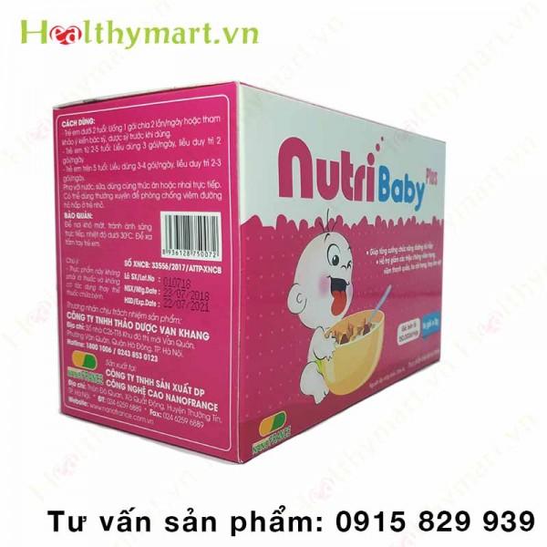 NutriBaby Plus - tăng cường chức năng đường hô hấp cho trẻ - 2