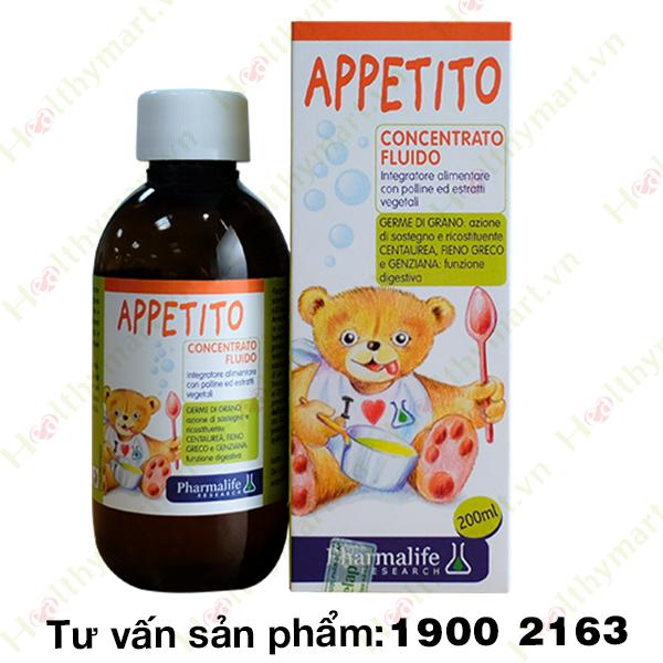 Siro Appetito Bimbi - giúp trẻ ngon miệng, ăn ngon