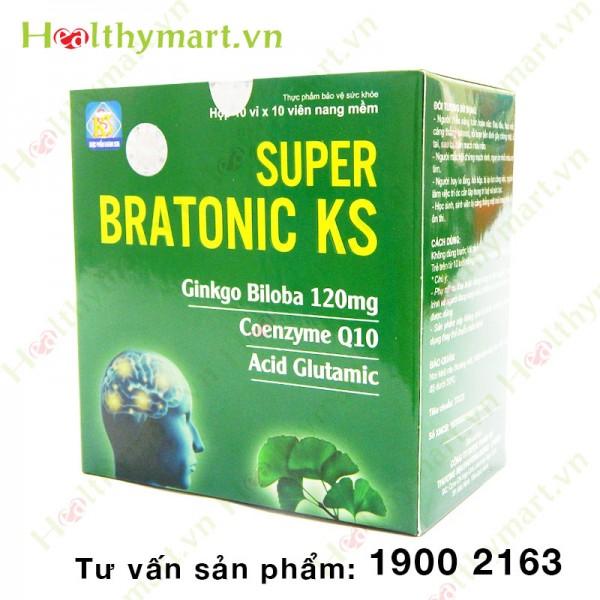 Super Bratonic KS – Bổ sung Coenzyme Q10, tăng tuần hoàn máu não - 2