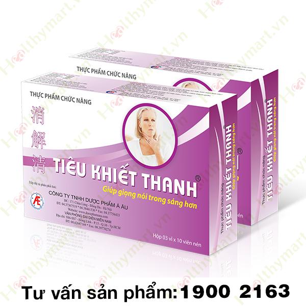 TIÊU KHIẾT THANH - phòng ngừa viêm hô hấp trên