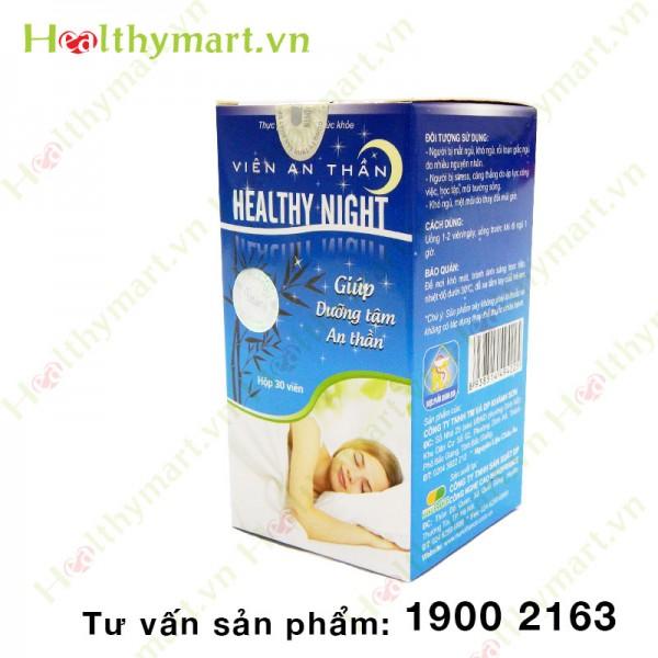 Viên Healthy Night - Dưỡng tâm an thần - 1