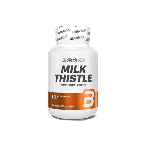 Viên Uống Chiết Xuất Cây Kế Sữa Milk Thistle BiotechUSA Hộp 60 Viên