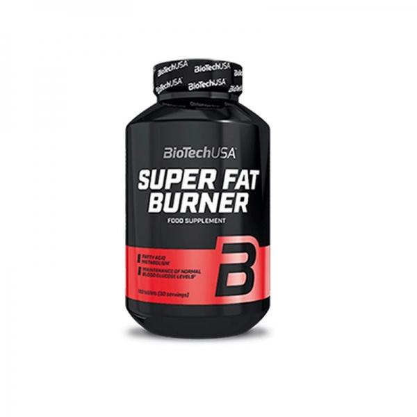 Viên Uống Hỗ Trợ Đốt Mỡ Super Fat Burner BiotechUSA Hộp 120 Viên