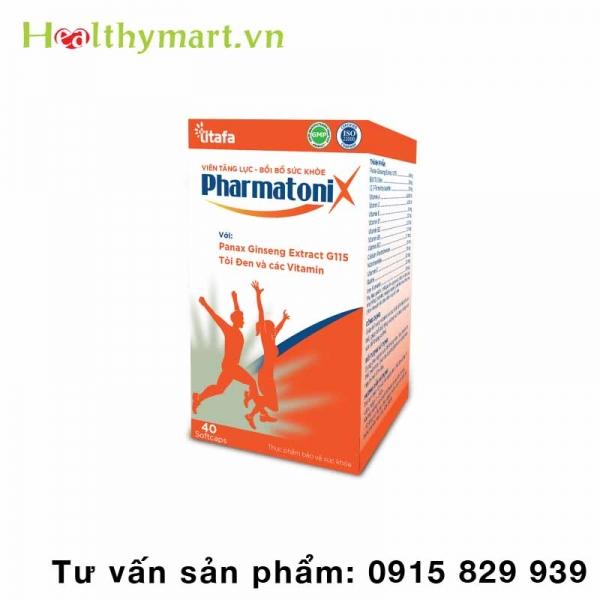 Viên Uống Pharmatonix – Giúp tăng cường và bồi bổ sức khỏe
