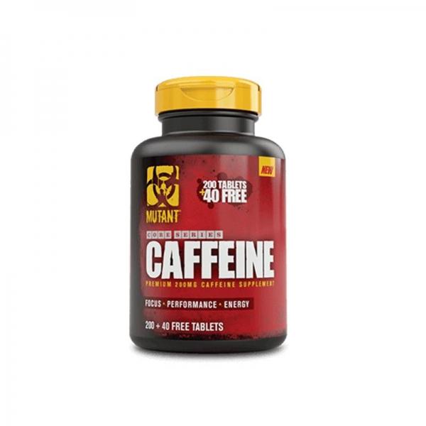 Viên Uống Tăng Tập Trung Và Tỉnh Táo Mutant Caffeine 200 viên