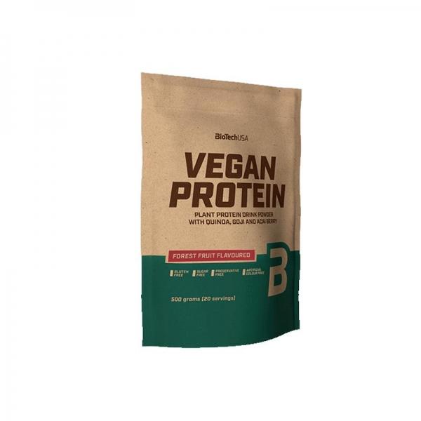 Whey Thực Vật Vegan Protein BiotechUSA Túi 500g